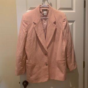 Pink Wool Blazer 12 vintage Requirements